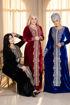 Wholesale  decorated velvet jilbab
