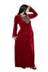 Wholesale  slit shoulder abaya