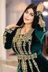 Wholesale  fashionable embroidered abaya
