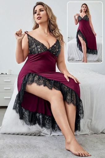 Wholesale  Beautiful maroon lingerie