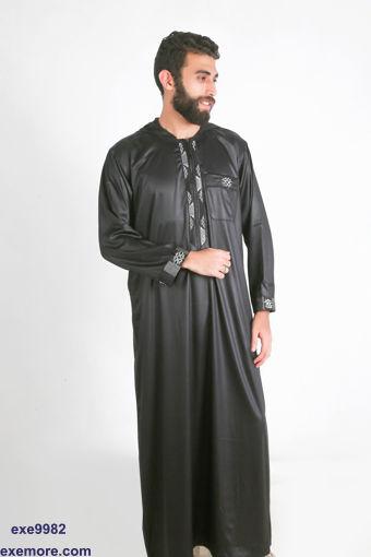 مناي XLجلباب علي الطراز المغربي بكابيتشو مقاس جملة
